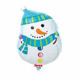 Ballon Alu Eternel Bonhomme de Neige