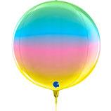 Ballon Alu Globe Grabo 38cm