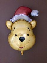 "Ballon ""Winnie Noël"" gonflé à l'hélium"