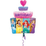 Ballon Alu Anagram Gateau Anniversaire Princesses Disney