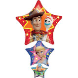 "Ballon Alu Anagram Shape ""Toy Story 4"""