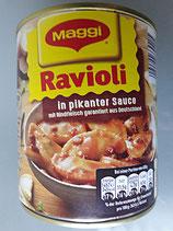 Ravioli in Pikanter Sauce