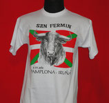 Camiseta Unisex - Toro Ikurriña