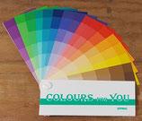Kleurenwaaier voor het lentetype