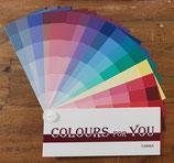 Kleurenwaaier voor het zomertype