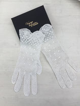 Gant crochet coton