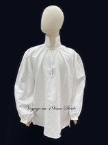 Chemise lin blanche
