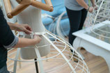 Atelier couture- fabrication crinoline