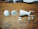 3D-Druckteile Tiburoncito