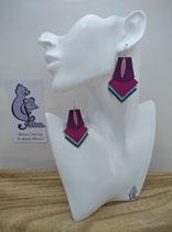 Boucles d'oreille FORMIDABLE modèle n°1 (ou votre prénom ?)