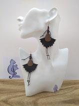 Boucles d'oreille COTINES modèle FLORENCE
