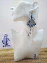 Boucles d'oreille COTINES modèle YAYA