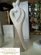 """Skulptur """"2 liebende Menschen"""""""