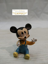 Micky Maus in Latzhose