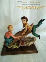 """Skulptur """"Kinder beim Spielen"""""""