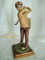 "Skulptur ""Golfspieler"""