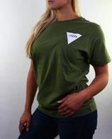 > ZRED back to classic Shirt  < green/white - women