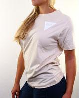 > ZRED back to classic Shirt  < linen/white - women
