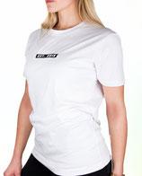 > ZRED Origin embroidered Shirt  < white - women