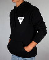 > ZRED Back to classic autumn Hoodie  < black/white - men