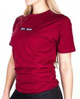 > ZRED Origin embroidered Shirt  < burgundy - women