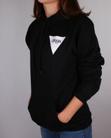 > ZRED Back to classic autumn Hoodie  < black/white - women