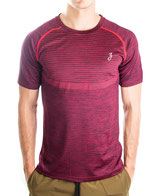 > ZRED Active Shirt  v2 < burgundy - men