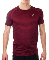 > ZRED Active Shirt < burgundy - men