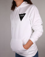 > ZRED Back to classic autumn Hoodie  < white/black - women