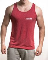>> ZRED Classic Tanktop v1 << - red - men