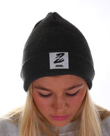 > Beanie zet casual  < charcoal