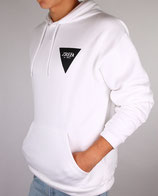 > ZRED Back to classic autumn Hoodie  < white/black - men