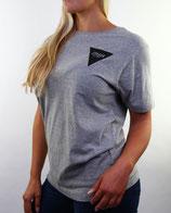 > ZRED Back to classic Shirt  < grey/black - women