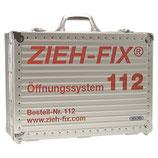 Ziehfix-Öffnungssystem 112