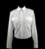 Uniformbluse weiß - Langarm