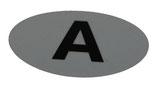 "Helmaufkleber ""A"""