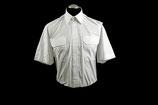Uniformbluse weiß - Kurzarm