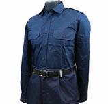 Diensthemd blau - Langarm
