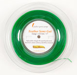 Feather Semi-gut - fluorescent green, Reel (200m)