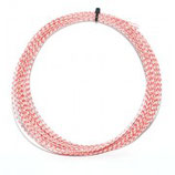 Feather Squash String - Red / White (single)