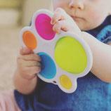 Palette de couleur en silicone d'apprentissage