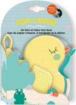 Livre tissu mon canard