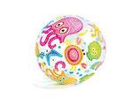 Ballon de plage INTEX pieuvre 51 cm