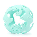 Balle silicone 3D dinosaure