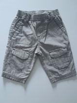 Pantalon imprimé petit carreau taupe Mexx