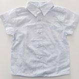 Chemise à petit carreau bleu ciel Tutto Piccolo