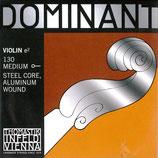 バイオリン弦 DOMINANT 4/4 (E線 クロムスチール・ボールエンド)