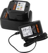 TJEP Ladegerät für TJEP Batterie 1,65 Ah NiMh