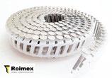 Haftennägel 2.5/2.8 x 25-35mm Coilnägel 16° plastgebunden Edelstahl 1.4301
