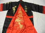 Kimono aus Satin